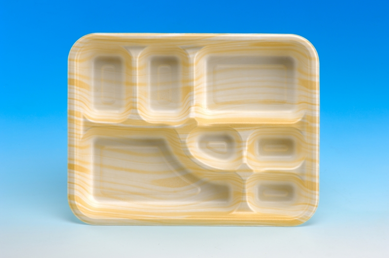 7-Compartment Big Meal Tray