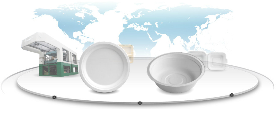 Biodegradable Products Manufacturer|Paper tableware|Molded paper
