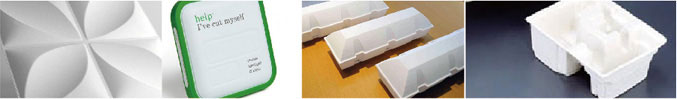 Paper Food Packaging, Molded Pulp Packaging